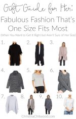 Gift Guide for Her: Fabulous Fashion That's One Size Fits Most (When You Want to Get It Right but Aren't Sure of Her Size)