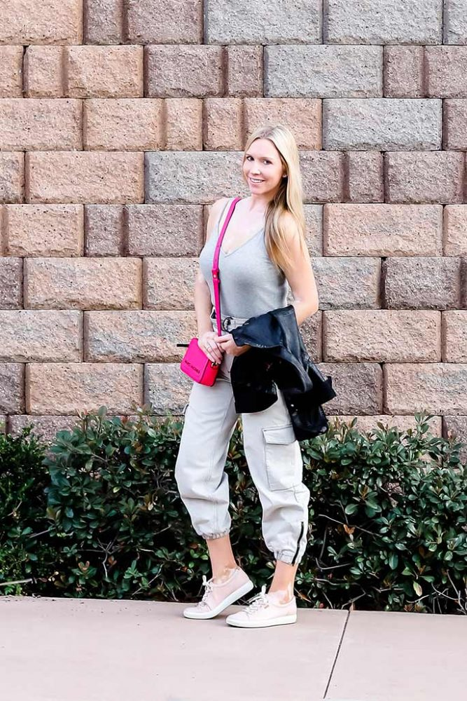 Women's Nordstrom Bodysuit, Topshop Cargo Pants, Marc Jacobs Handbag, Ecco Shoes - ChristinaChitwood.com