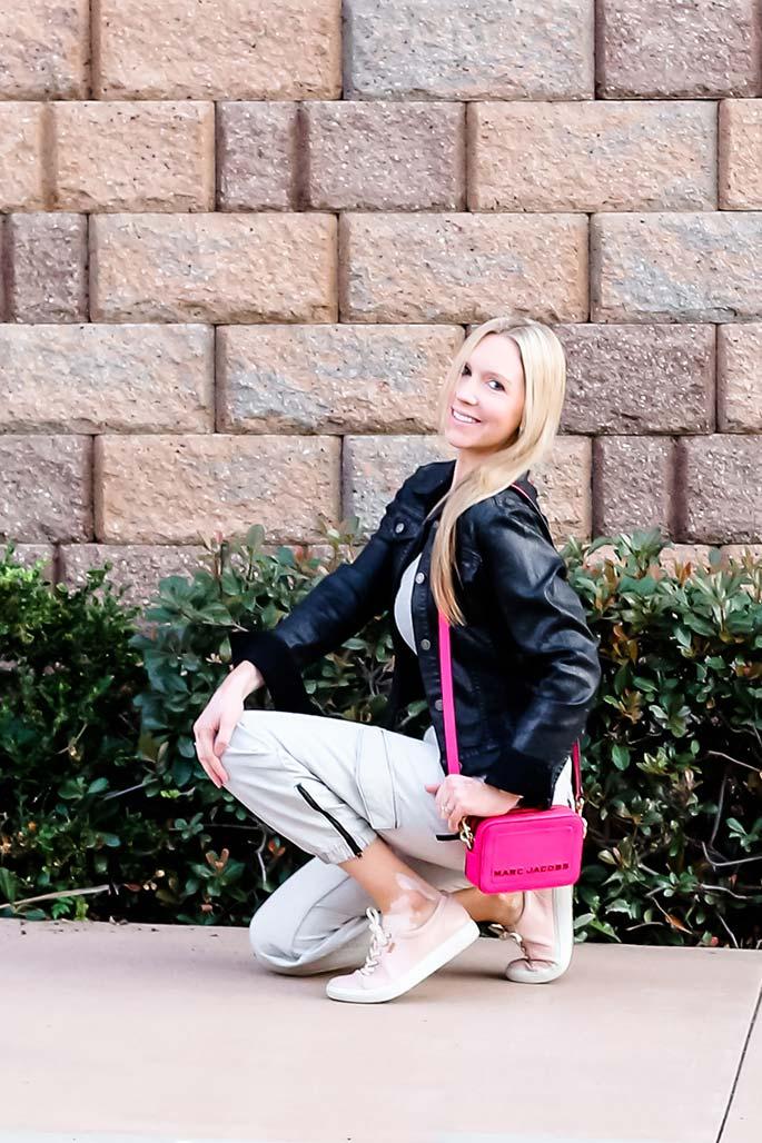 Women's Nordstrom Bodysuit, Topshop Cargo Pants, Marc Jacobs Handbag, Ecco Shoes. 2 - ChristinaChitwood.com
