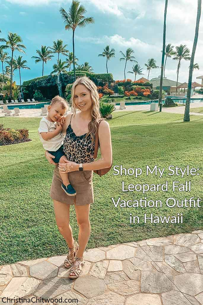 Shop My Style: Leopard Fall Vacation Outfit in Hawaii - 2