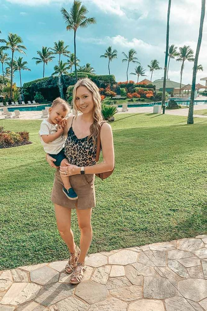 Shop My Style: Leopard Fall Vacation Outfit in Hawaii