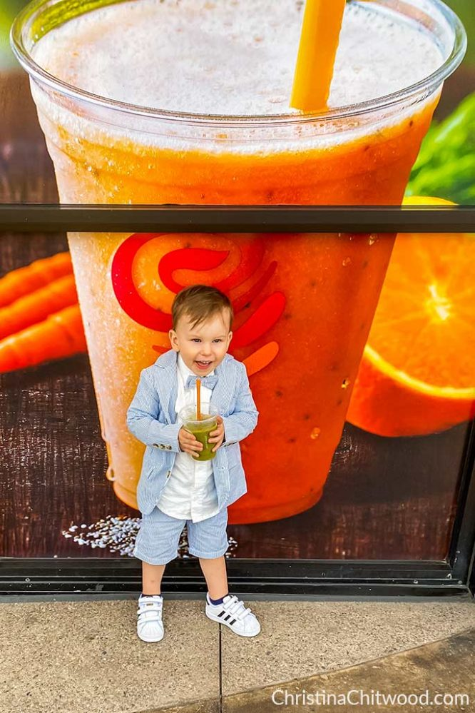 How We Modify Our Toddler Son's Kids Jamba Juice to Make it Super-Healthy