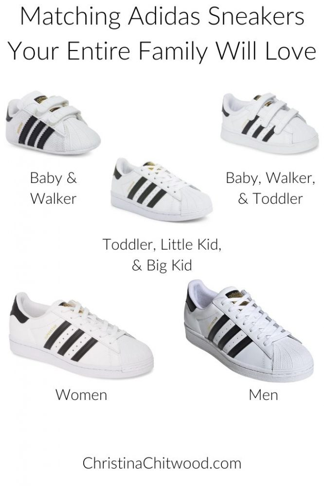 Matching Adidas Sneakers Your Entire Family Will Love