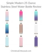 Simple Modern 25-Ounce Stainless Steel Water Bottle Review