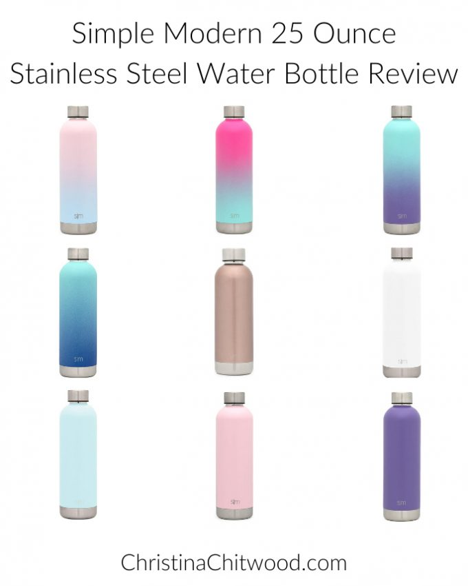 Simple Modern 25 Ounce Stainless Steel Water Bottle Review